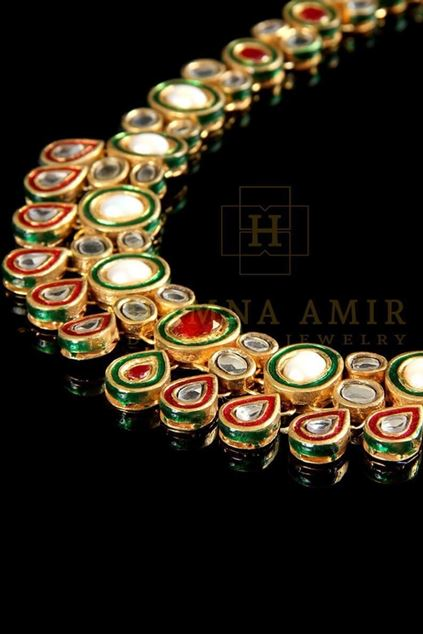 Picture of Gold Plated Kundan Mala