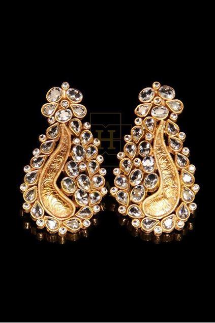 Picture of Zircon Paisley Earrings