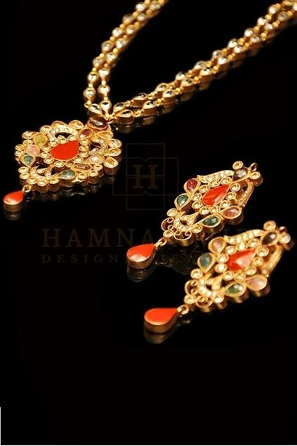 Picture of Coral Pendant Set