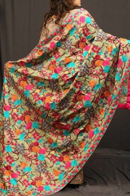 Picture of Floral Patterned Shawl