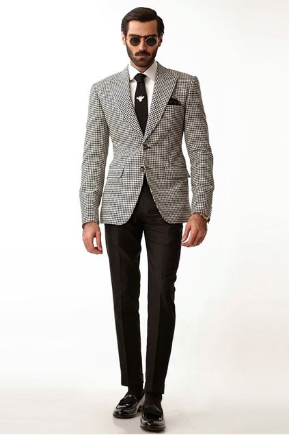 Picture of Houndstooth Blazer