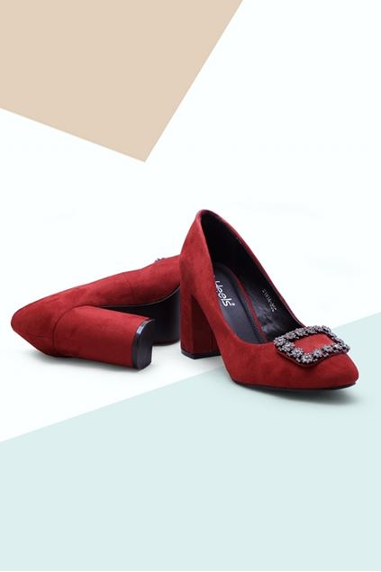 Picture of Red Velvet Pumps