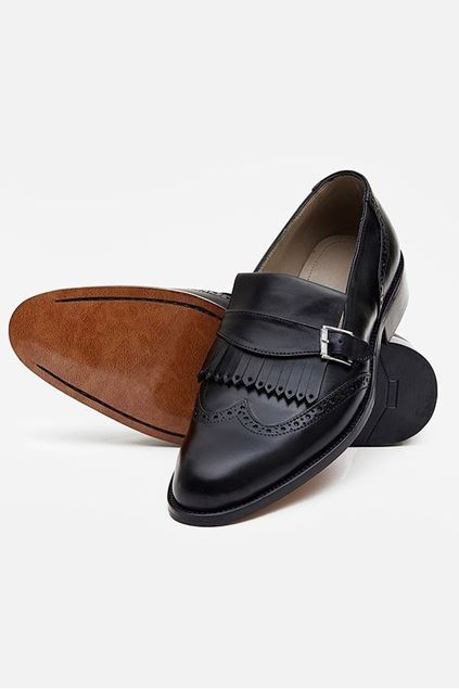 Picture of Pie Town Brogue Buckled Loafer