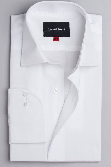 Picture of White Business Formal Classic Collar Shirt