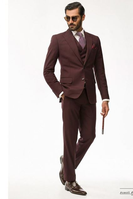 Picture of Deep Maroon Suit