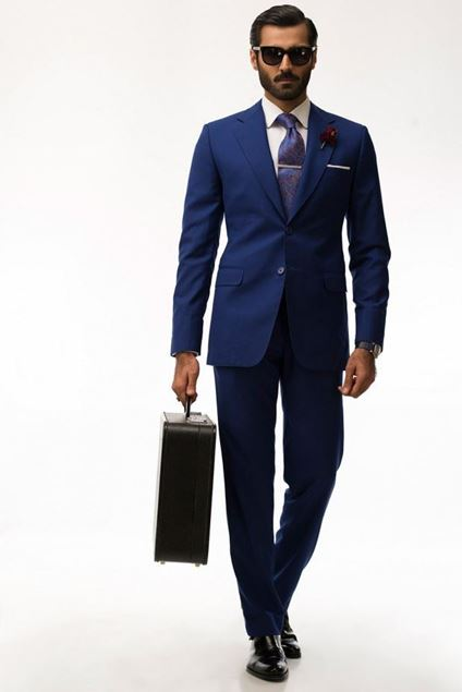 Picture of Cobalt Blue Suit