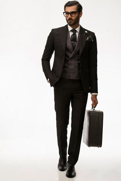 Picture of Classic Black Suit