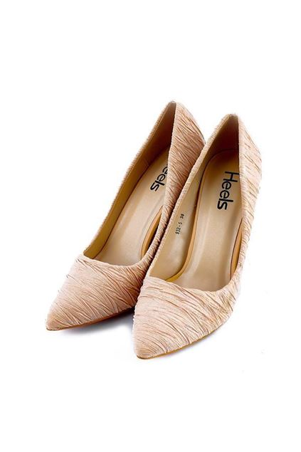 Picture of Formal Court Shoes 085285 - Beige