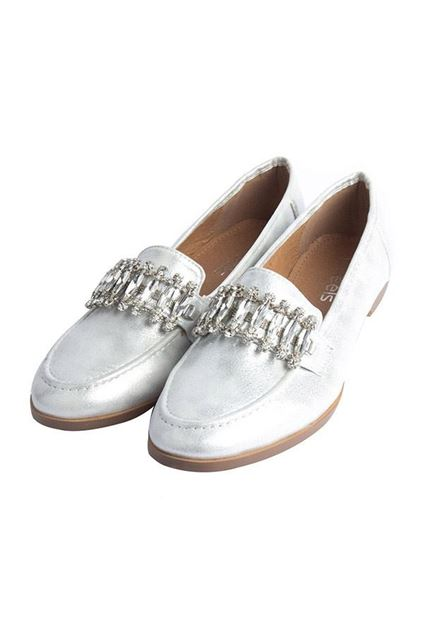 Picture of Casual Loafers 095021 - Silver