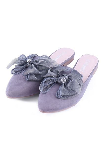 Picture of Casual Mules 080021 - Grey
