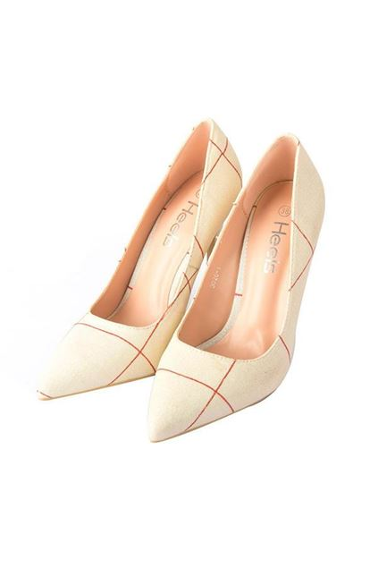Picture of Court Shoes 085275 - Fawn