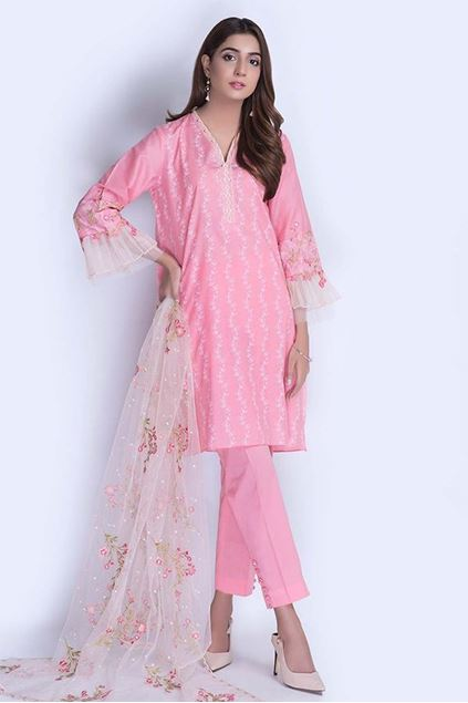 Picture of Pink Digital & Embroidered Suit