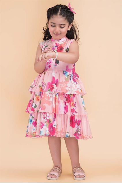 Picture of Pink Color Frock