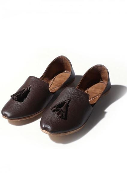 Picture of The Tassel Khussa Brown
