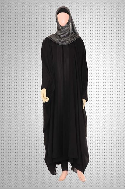 Picture of Beautiful Butterfly Style Abaya Jilbab-R-708