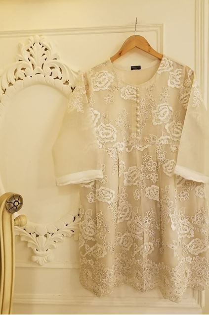 Picture of PURE SILK ORGANZA SHIRT