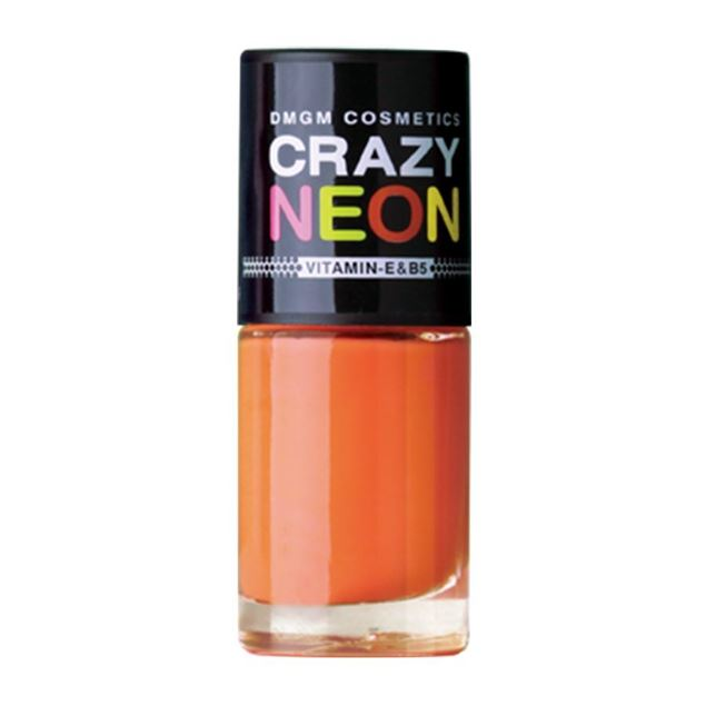 Picture of Crazy Neon Nail Color in Trangy Orange