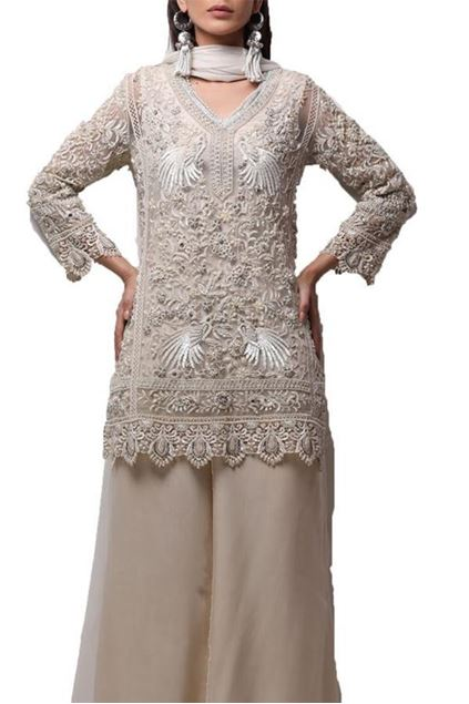Picture of Short Tunic With Classic Gara Motif