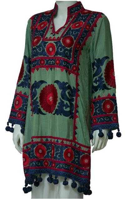 Picture of Tashkent Embroidered Traditional Kurta
