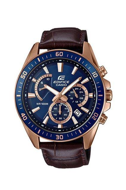 Picture of Edifice Men's Steel Rosegold & Blue Watch