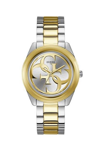 Picture of Guess Womens Steel Silver/Gold Watch
