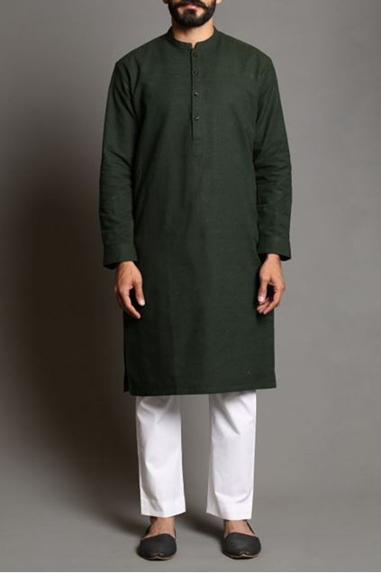 Picture of HM Khaddar Kurta 1F