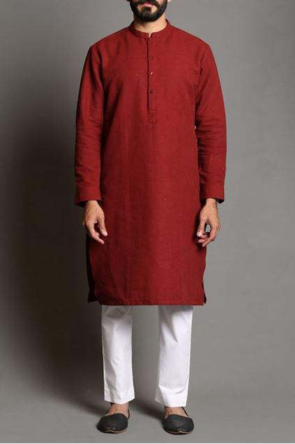 Picture of HM Khaddar Kurta 1C