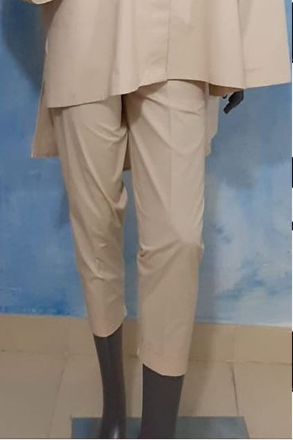 Picture of Beige Cotton Trouser