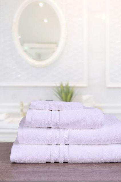 Picture of Bath Sheet Reg Towel-600-k18 White