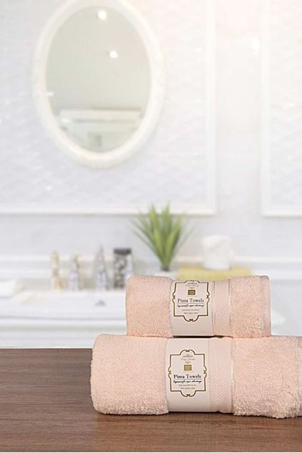 Picture of 3 Pcs Towel Set Reg Towel-700-k18 Cream