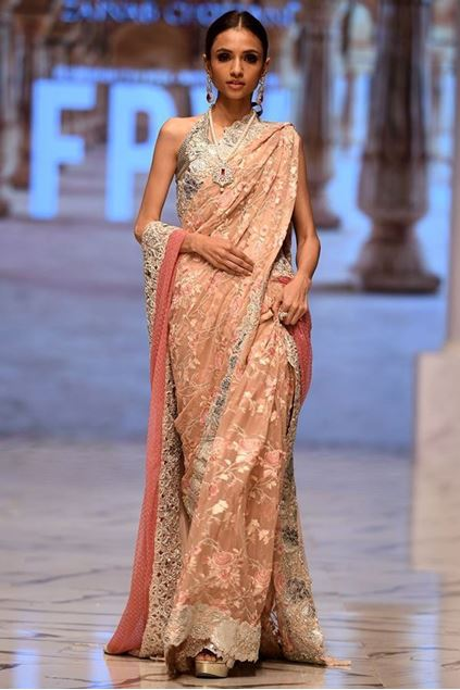 Picture of Blush Pink Sari