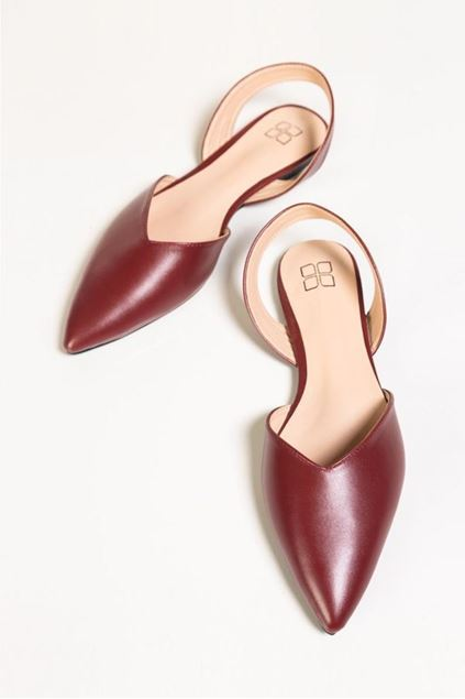Picture of Maroon Shoes -9155