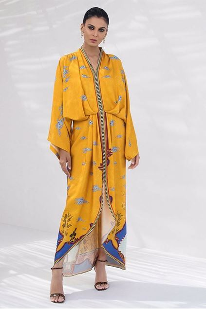 Picture of Digitally printed  Kimono