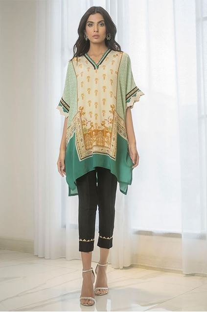 Picture of Digitally Printed Crepe Kurta