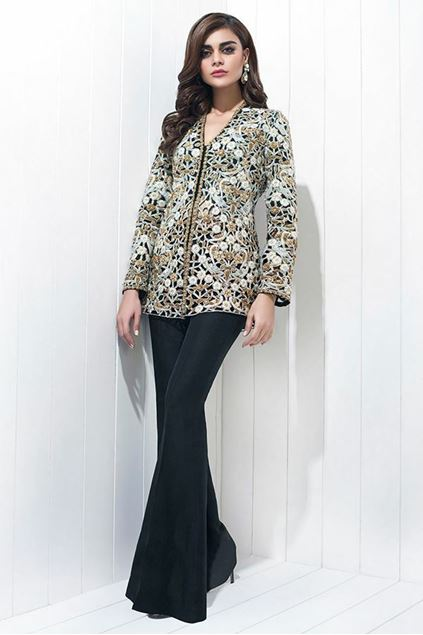 Picture of Jamawar Hand Embroidered Jacket