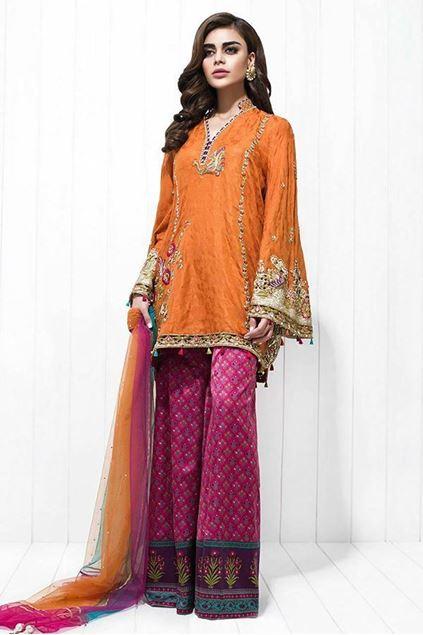 Picture of Cotton Silk Zardoze Worked Shirt