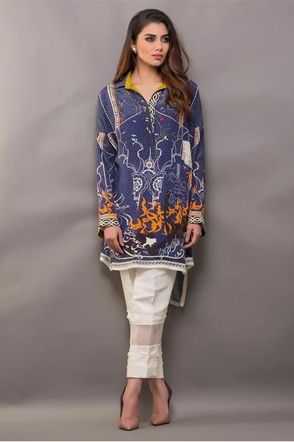 Picture of Digitally Printed Crepe Shirt
