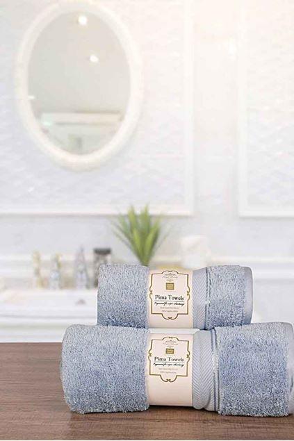 Picture of 3 Pcs Towel Set Reg Towel-700-k18 Nattier