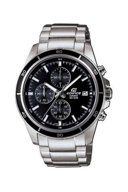 Picture of Edifice Men's Steel Silver & Black Watch