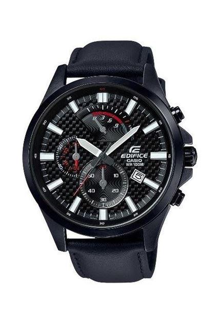 Picture of Edifice Men's Strap  Black Watch