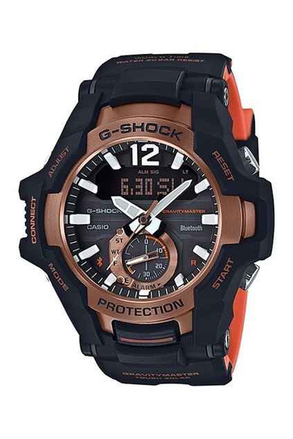 Picture of G-Shock Gravity Master Bi-Color Black Bluetooth Watch